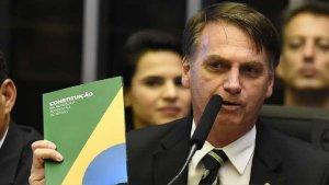 Con Bolsonaro: Son las primeras luces.